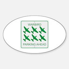 Warbird Parking Decal