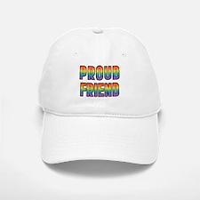 GLBT Rainbow Proud Friend Baseball Baseball Cap