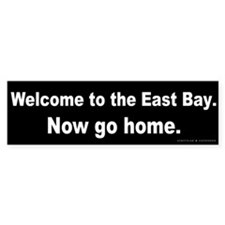 Welcome/East Bay Bumper Sticker