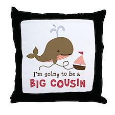 Big Cousin to be Throw Pillow