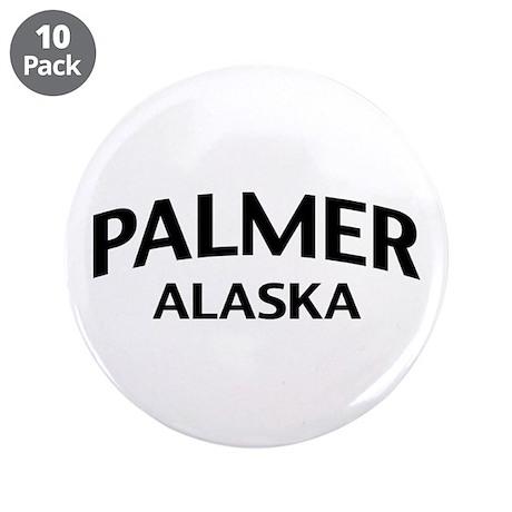 """Palmer Alaska 3.5"""" Button (10 pack)"""