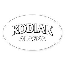Kodiak Alaska Decal
