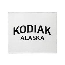 Kodiak Alaska Throw Blanket