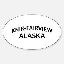 Knik-Fairview Alaska Decal