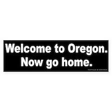 Welcome/Oregon Bumper Sticker