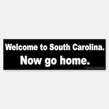 Welcome/South Carolina Bumper Bumper Sticker