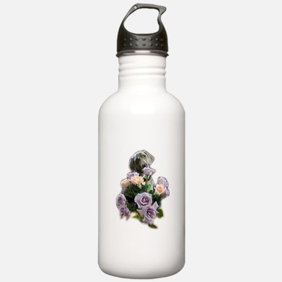 Blue-quet of Roses Water Bottle