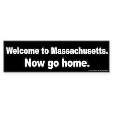 Welcome/Massachusetts Bumper Sticker