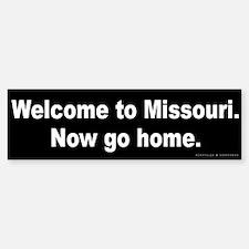 Welcome/Missouri Bumper Bumper Sticker