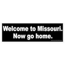 Welcome/Missouri Bumper Sticker