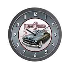 Lead Sled - Pinstripe Wall Clock