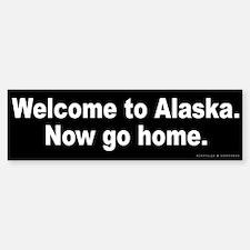 Welcome to Alaska Bumper Bumper Sticker