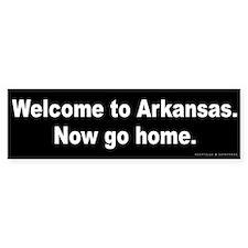 Welcome to Arkansas Bumper Sticker