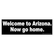 Welcome to Arizona Bumper Sticker