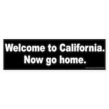 Welcome to California Bumper Sticker