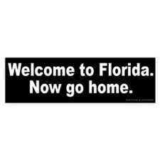 Welcome to Florida Bumper Stickers