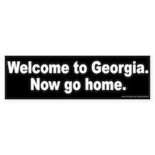 Welcome to Georgia Bumper Sticker