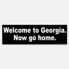 Welcome to Georgia Sticker (Bumper)