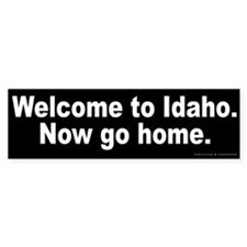Welcome to Idaho Bumper Bumper Sticker