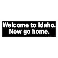 Welcome to Idaho Bumper Sticker