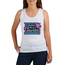 I'd Rather Be In Florida Women's Tank Top