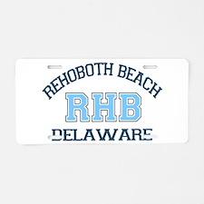 Rehoboth Beach DE - Varsity Design Aluminum Licens