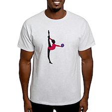 Unique Drehen T-Shirt