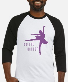 Unique Girls ballet Baseball Jersey