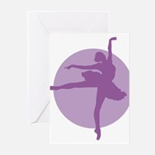 Funny Dancer sweats Greeting Cards (Pk of 20)