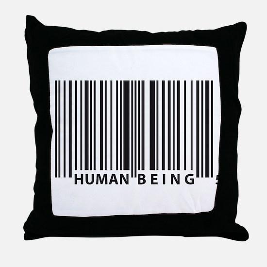 Cute Barcode Throw Pillow