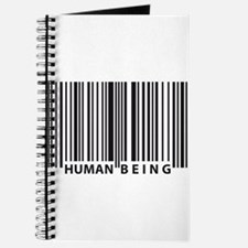 Cute Human barcode Journal