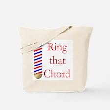 Ring that Chord Tote Bag