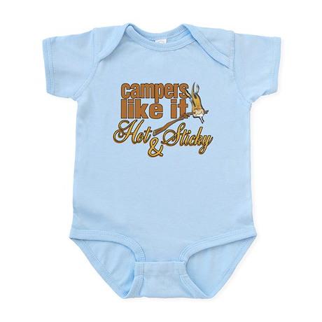Hot & Sticky Campers Infant Bodysuit