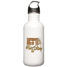 Hot & Sticky Campers Sports Water Bottle