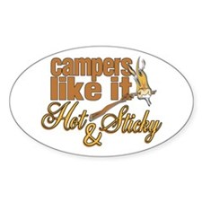Hot & Sticky Campers Decal
