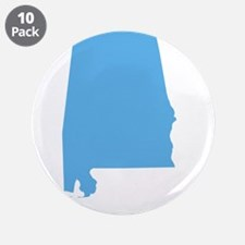 "Baby Blue Alabama 3.5"" Button (10 pack)"