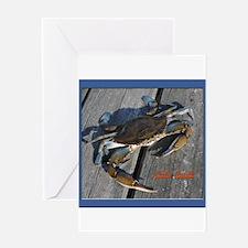 Ooh crab! Greeting Card