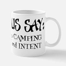 Confucius say: Girl Camping Mug