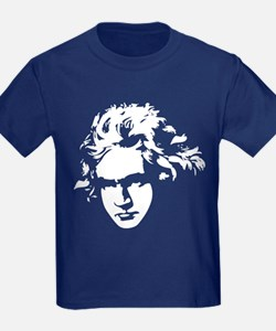 Beethoven Silhouette T