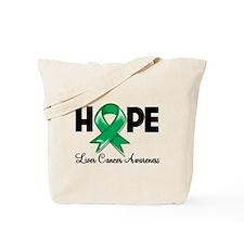 Hope Liver Cancer Tote Bag
