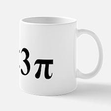 i (less than three) pi Mug