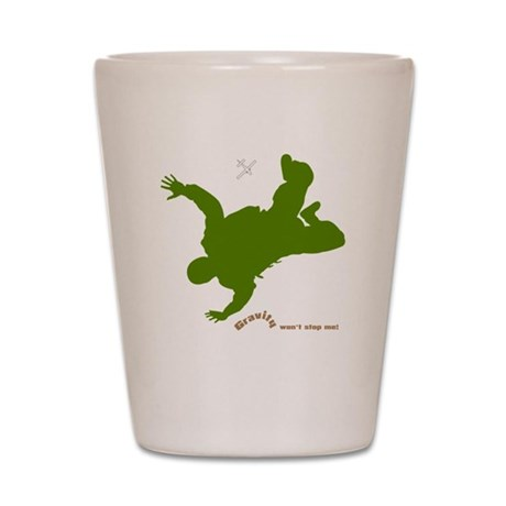 Gravity Wear - Skydiving Shot Glass