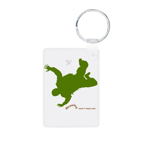Gravity Wear - Skydiving Aluminum Photo Keychain