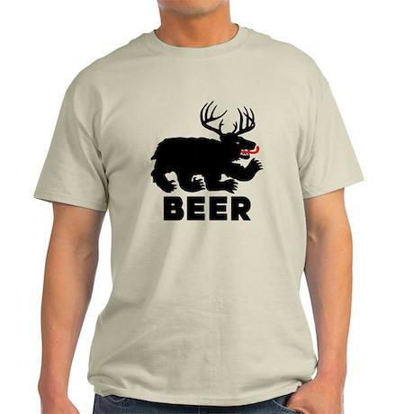 BEER - Bear/Deer Combo Light T-Shirt