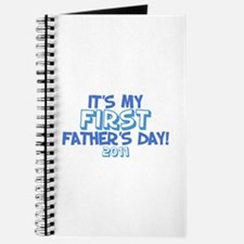 It's My First Father's Day 2011 Journal