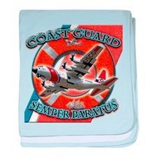 US Coast Guard Semper Paratus baby blanket