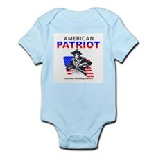 American Patriot Infant Creeper