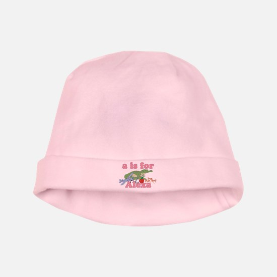 A is for Alexa baby hat