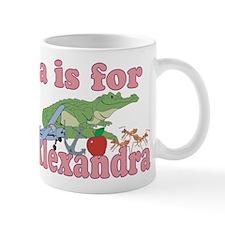 A is for Alexandra Mug
