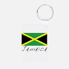 Jamaica (Flag, World) Keychains